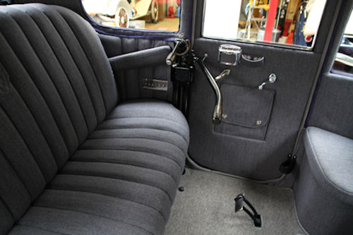 Interior of 1919/1931 Detroit Electric